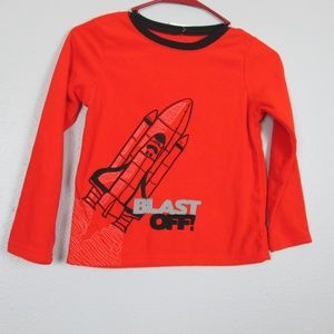 Other - Carter's Size 7 Sleepwear Shirt NWT